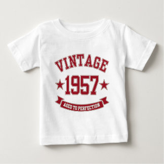 1957 Vintage Aged to Perfection Baby T-Shirt