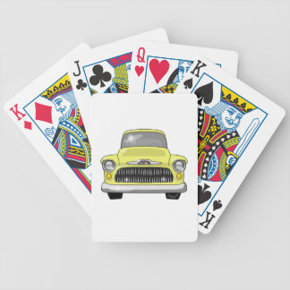 1957 Yellow Chevy Pickup Bicycle Playing Cards