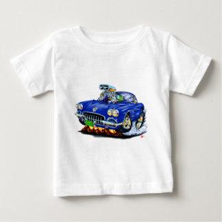 1958-60 Corvette Dark Blue Car Baby T-Shirt