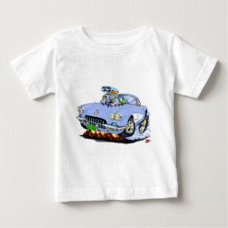 1958-60 Corvette Light Blue Car Baby T-Shirt