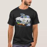 1958-60 Corvette White Car T-Shirt