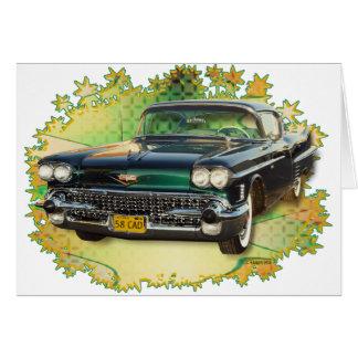 1958 CADILLAC #2 CARD