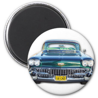 1958 CADILLAC 2 INCH ROUND MAGNET