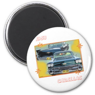 1958 CADILLAC 3 2 INCH ROUND MAGNET