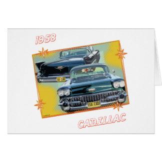 1958 CADILLAC 3 CARD