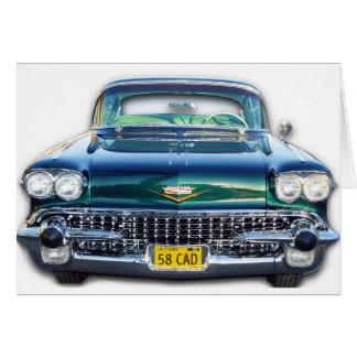 1958 CADILLAC CARD