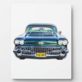 1958 Cadillac Display Plaque