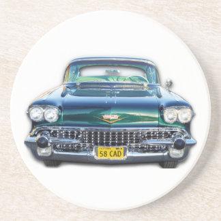 1958 Cadillac Drink Coasters