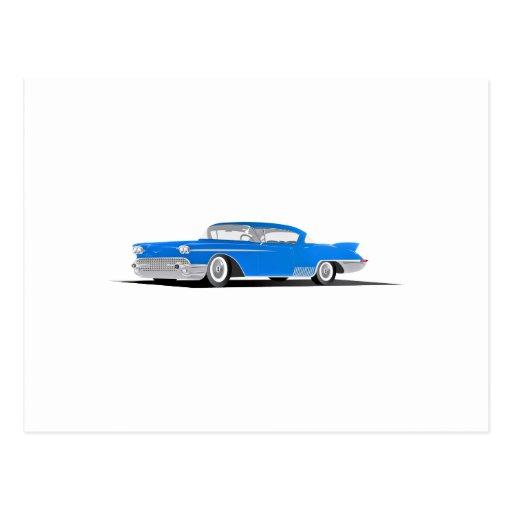 1958 Cadillac El Dorado Postcard