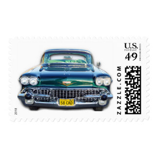 1958 CADILLAC POSTAGE STAMP
