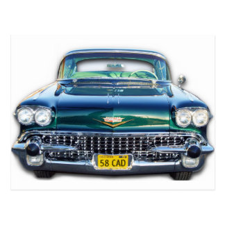 1958 CADILLAC POSTCARD