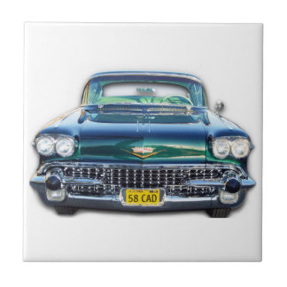 1958 Cadillac Small Square Tile