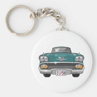 1958 Chevrolet Impala Keychain