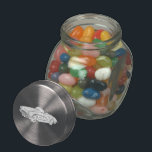 """1958 Chevy Corvette Glass Candy Jar<br><div class=""""desc"""">This Jelly Bean Jar is a great gift idea for the 1958 Chevy Corvette automotive enthusiast because after enjoying all the wonderful candy they can also use the jar to storing little stuff like nuts and bolts in the garage. A pencil style line drawing of a classic Chevrolet Corvette looking...</div>"""