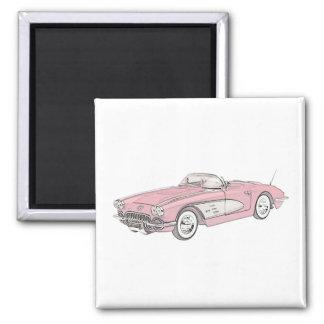 1958 Chevy Corvette Magnet