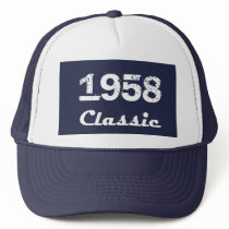 1958 Classic 60th Birthday Celebration Trucker Hat