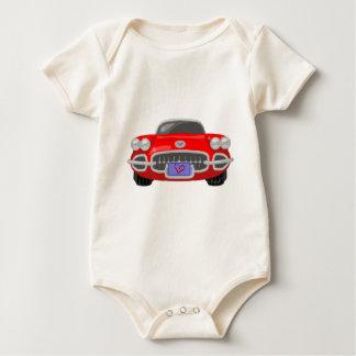 1958 Corvette Baby Bodysuit