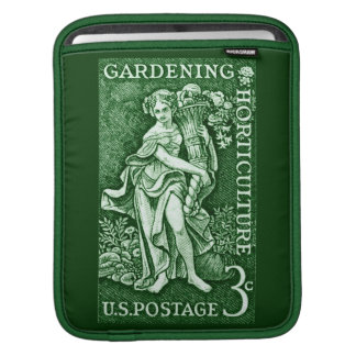 1958 Gardening + Horticulture Stamp iPad Sleeve