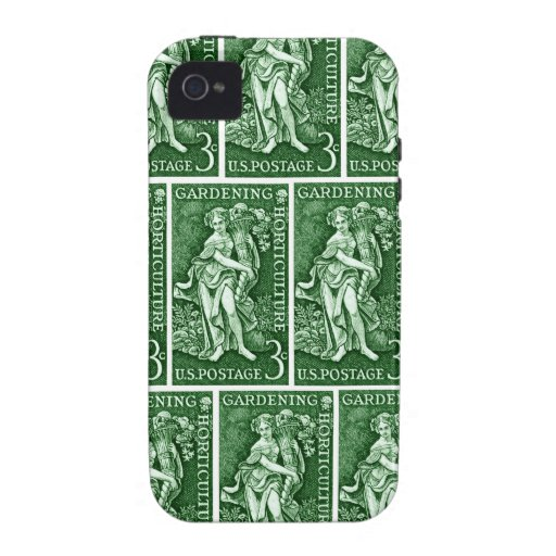 1958 Gardening + Horticulture Stamp iPhone 4 Cover