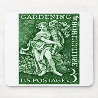 1958 Gardening + Horticulture Stamp Mousepads