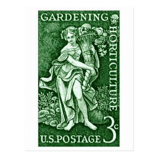 1958 Gardening + Horticulture Stamp Post Cards