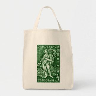 1958 Gardening + Horticulture Stamp Tote Bag