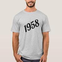 1958 Happy 60th Birthday