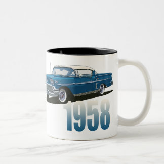 1958 Impala Two-Tone Coffee Mug
