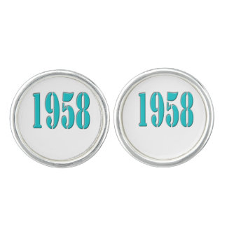 1958 mancuernas gemelos