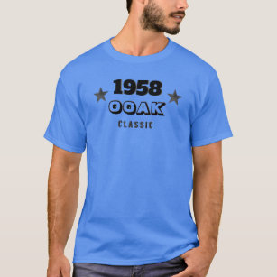 One Of A Kind 60th Birthday T Shirt