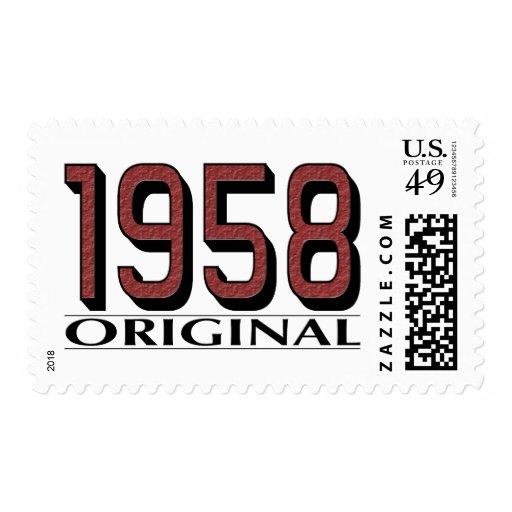 1958 Original Postage Stamps