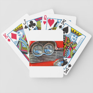 1958 Plymouth Fury Bicycle Playing Cards