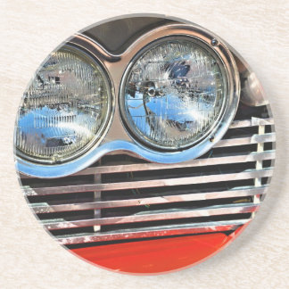 1958 Plymouth Fury Drink Coaster