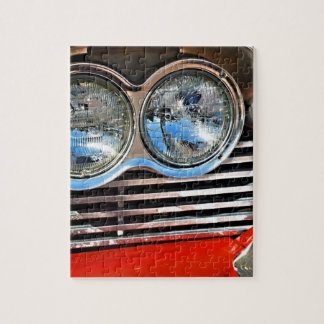 1958 Plymouth Fury Jigsaw Puzzle
