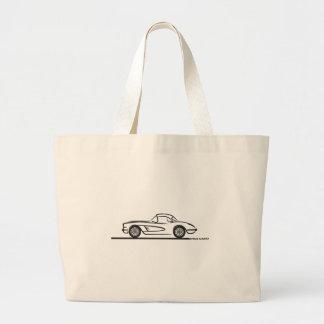 1959 1960 Chevrolet Corvette Hardtop Canvas Bags
