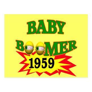 1959 Baby Boomer Postcard