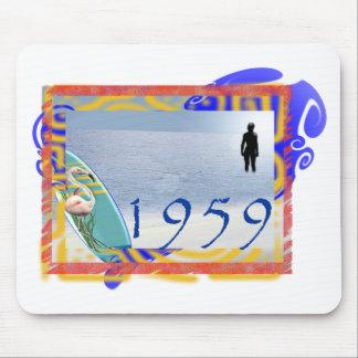 1959 beach mouse pad