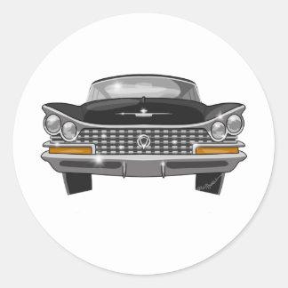 1959 Buick Electra Classic Round Sticker