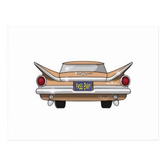 1959 Buick Electra Pass Envy Postcard