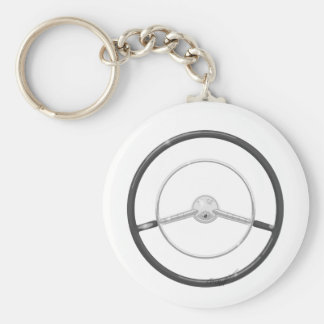 1959 Buick Steering Wheel Keychain