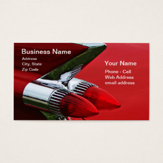1959 Bullets Business Card