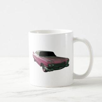 1959 Caddilac Big Pink Fins Coffee Mugs