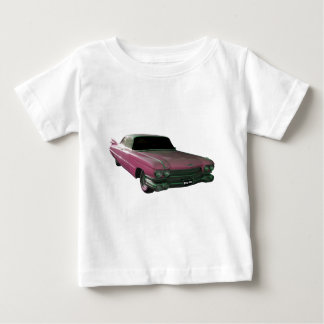 1959 Caddilac Big Pink Fins T Shirt