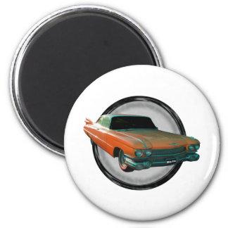 1959 Cadillac Big Fin 2 Inch Round Magnet