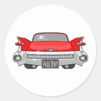 1959 Cadillac Classic Round Sticker