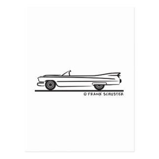 1959 Cadillac Convertible Postcard
