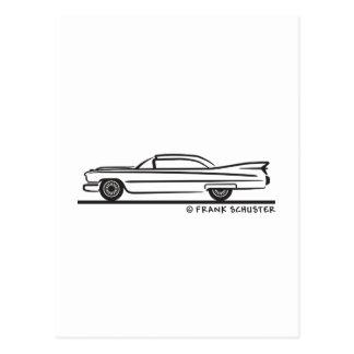 1959 Cadillac Coupe Postcard