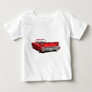 1959 Cadillac Red Car Baby T-Shirt