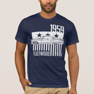 1959 Cadillac Sixty Special Fleetwood illustration T-Shirt