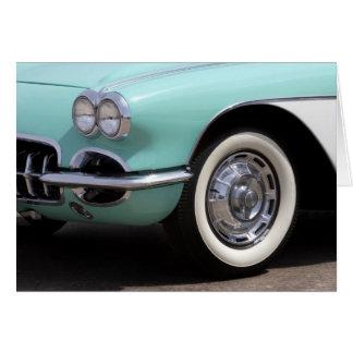 1959 Chevrolet Corvette Card